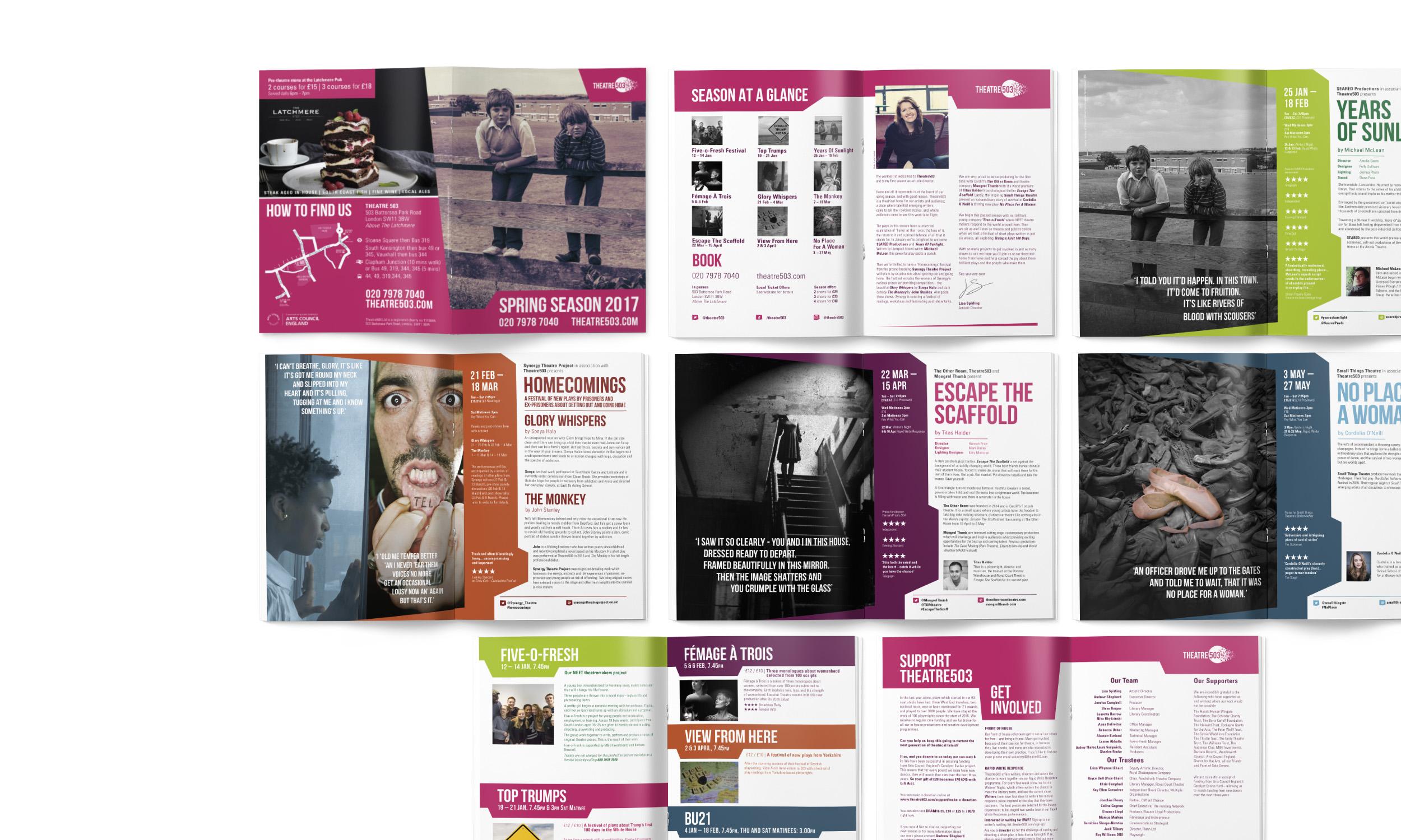 multiple magazine designs