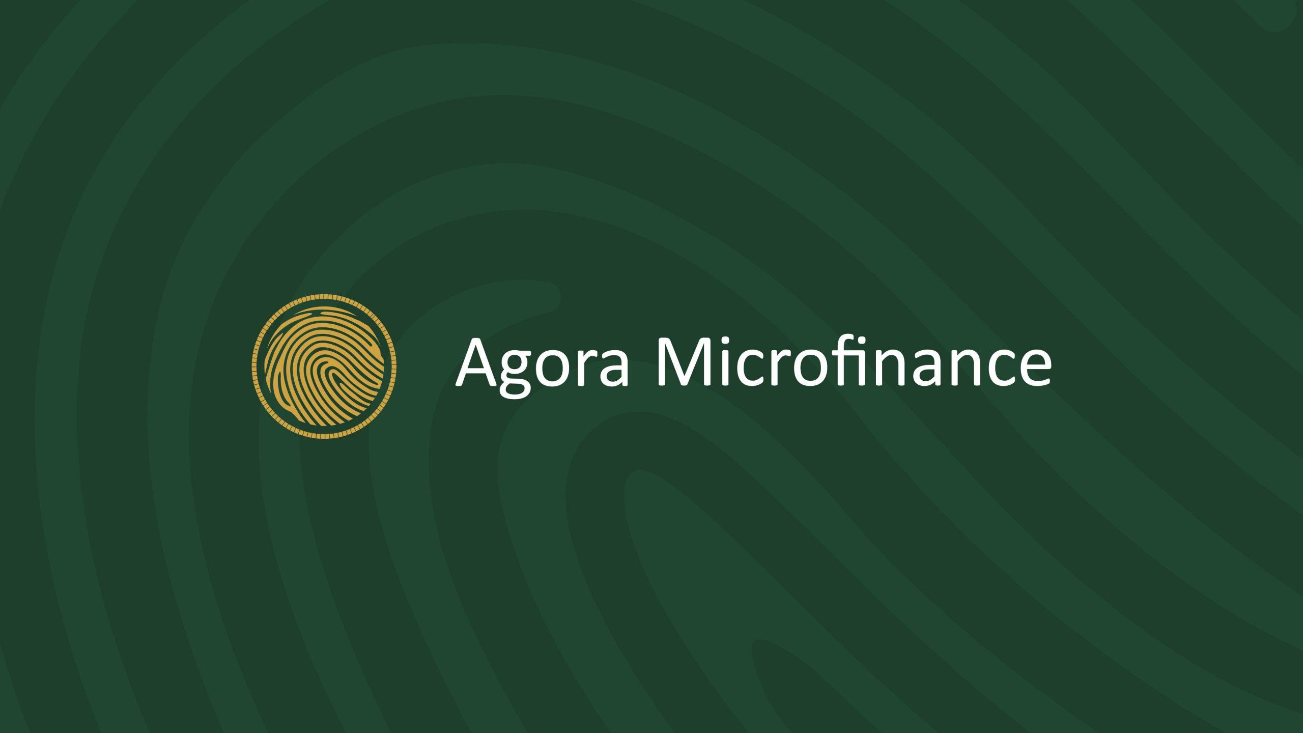 agora microfinance brand design