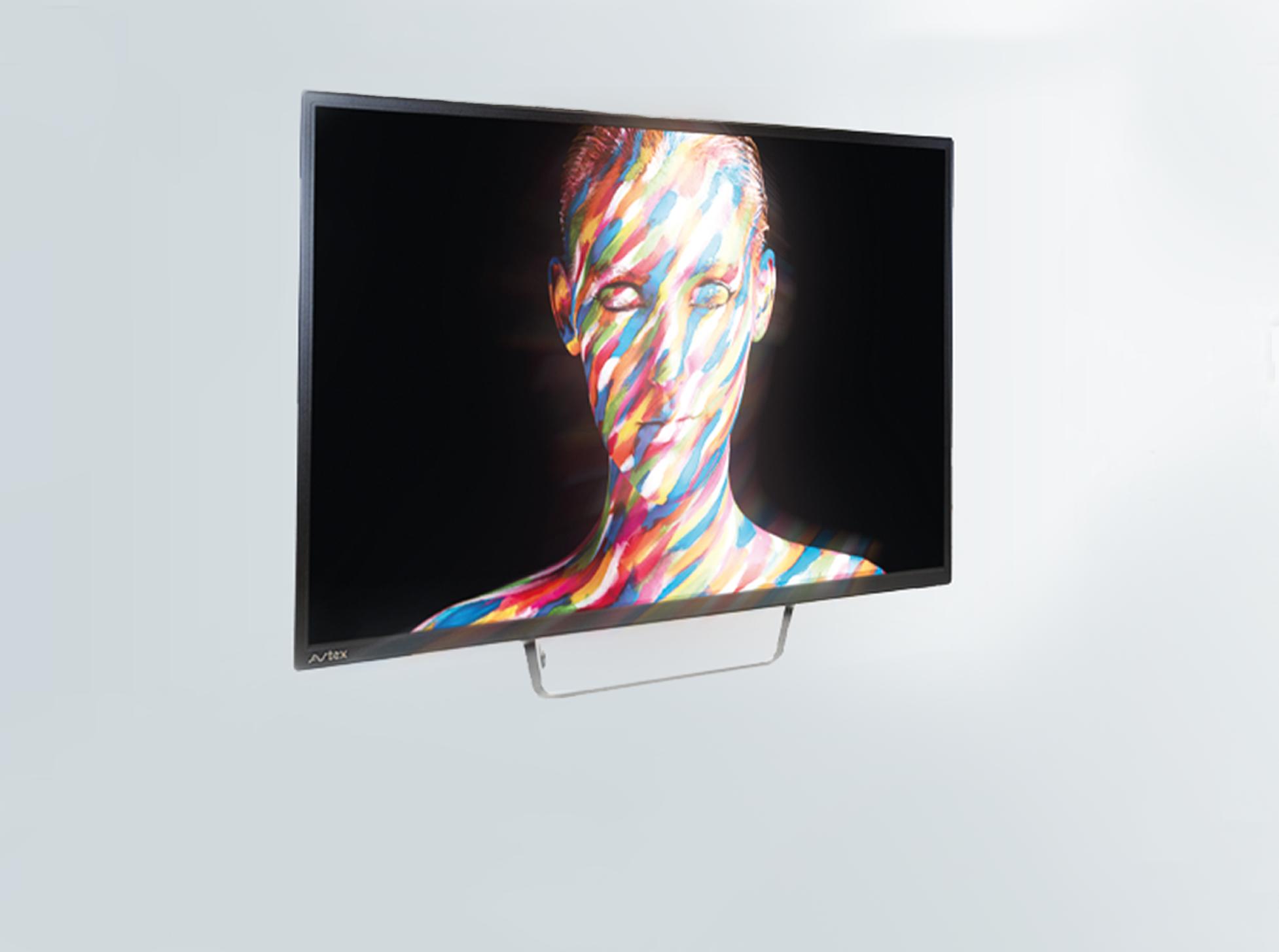 image of man design on monitor