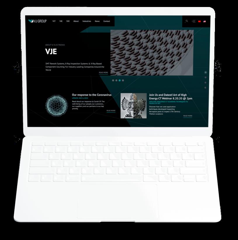 Manufacturing web design